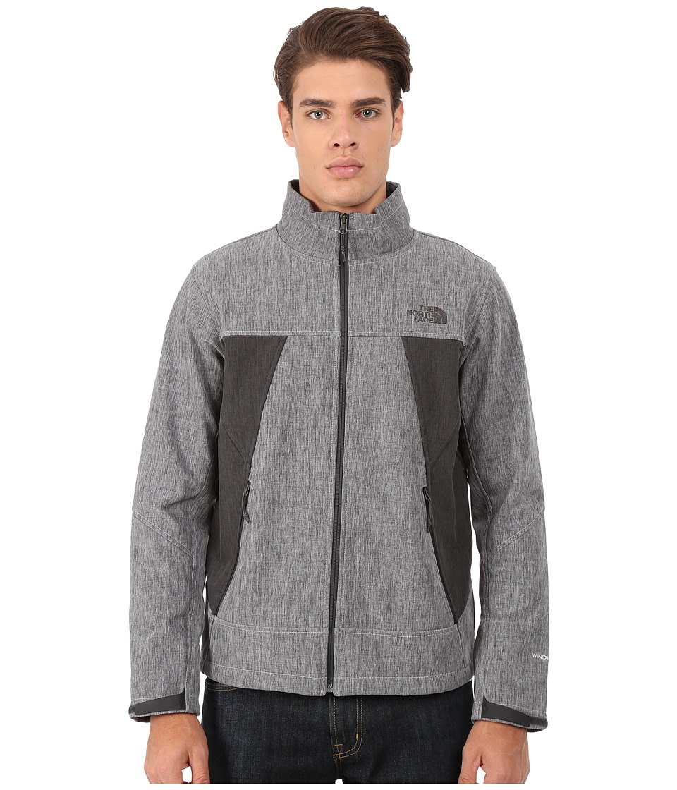 The North Face - Apex Chromium Thermal Jacket (High Rise Grey Heather/Asphalt Grey Heather) Men's Coat