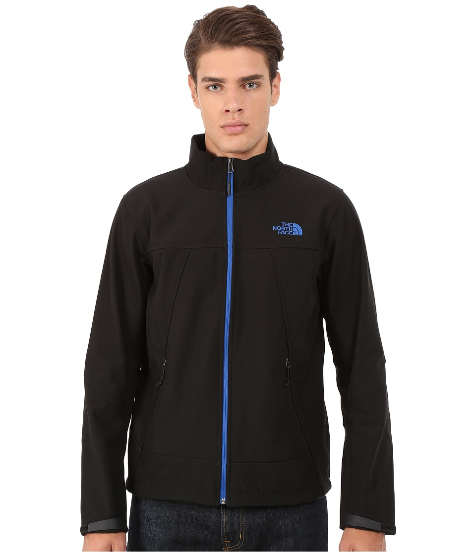 The North Face - Apex Chromium Thermal Jacket (TNF Black/Monster Blue) Men's Coat