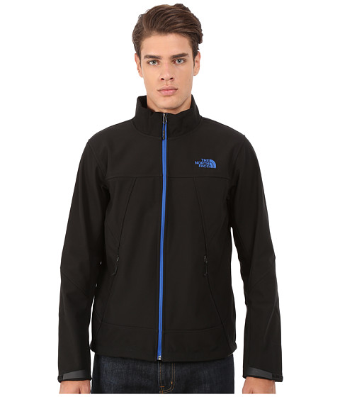 The North Face - Apex Chromium Thermal Jacket (TNF Black/Monster Blue) Men