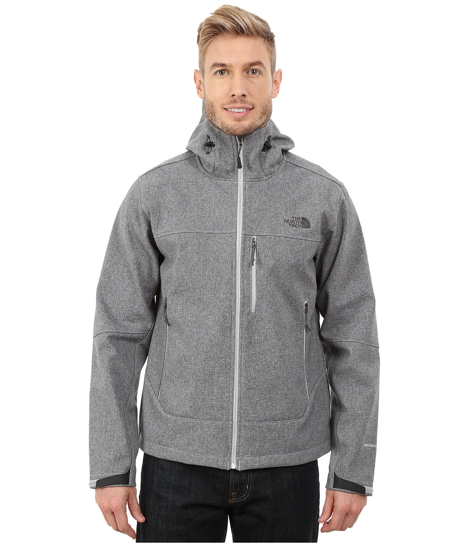 The North Face - Apex Bionic Hoodie (High Rise Grey Heather) Men's Coat