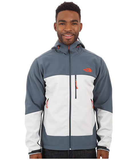 The North Face - Apex Bionic Hoodie (Conquer Blue/High Rise Grey) Men's Coat