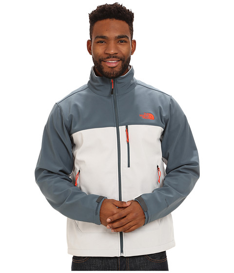 The North Face - Apex Bionic Jacket (High Rise Grey/Conquer Blue) Men's Coat