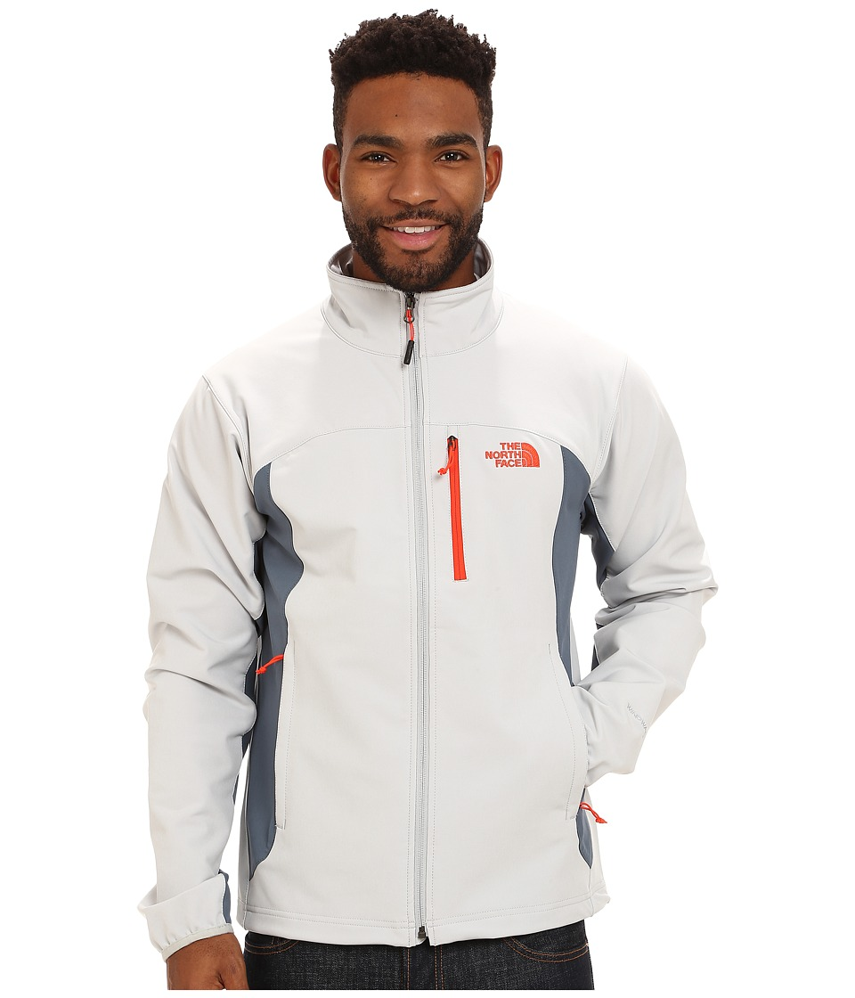The North Face - Pneumatic Jacket (High Rise Grey/Conquer Blue) Men