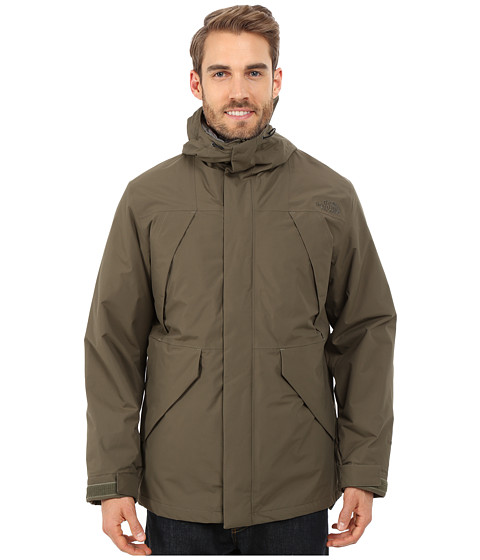 The North Face - Precipice Triclimate (New Taupe Green) Men's Coat
