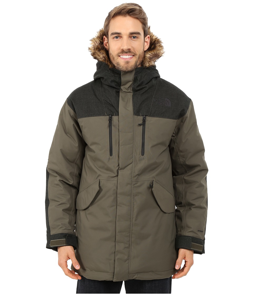 The North Face - Mount Logan Parka (New Taupe Green (Prior Season)) Men's Coat