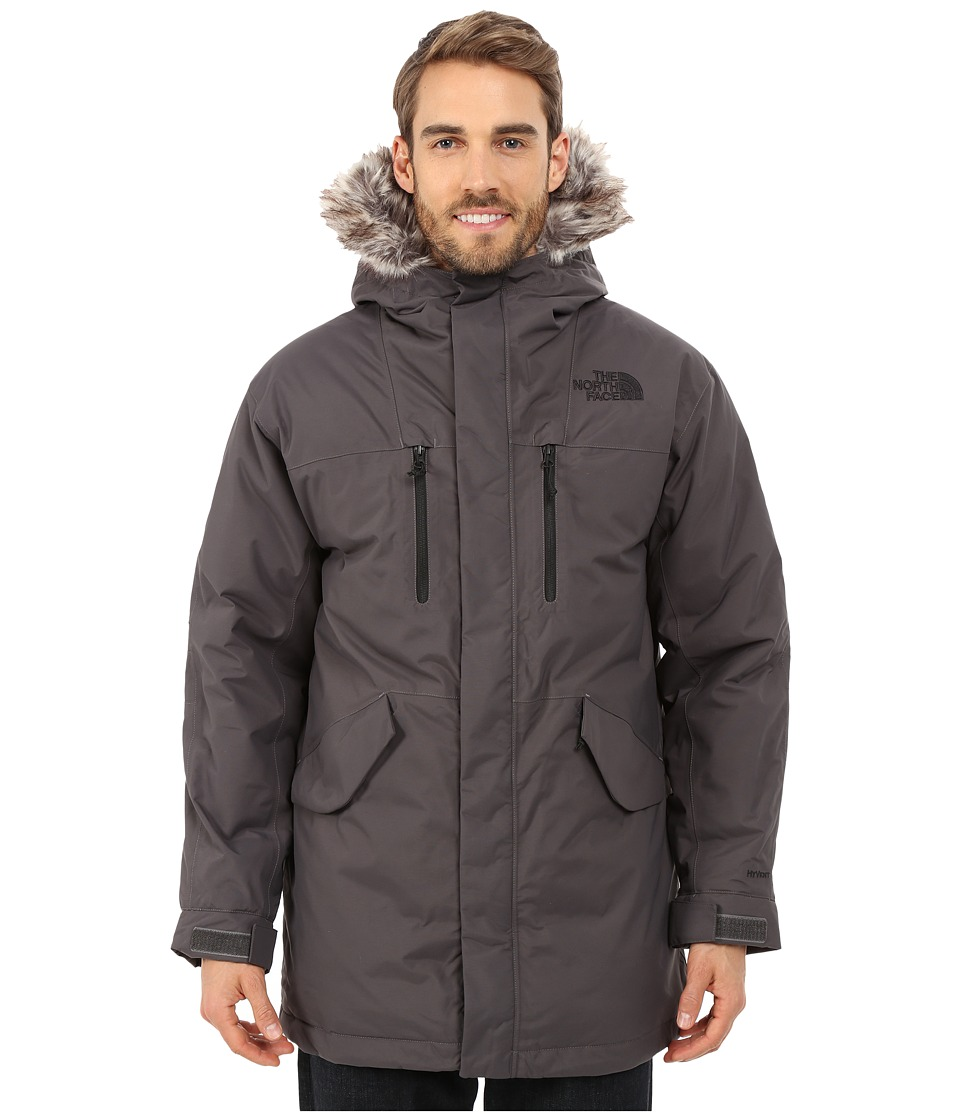 The North Face - Mount Logan Parka (Graphite Grey) Men's Coat