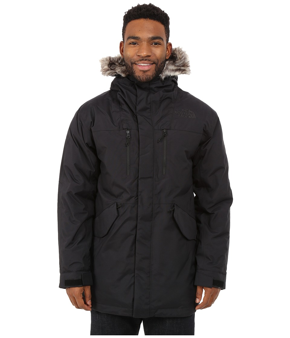 The North Face - Mount Logan Parka (TNF Black) Men's Coat