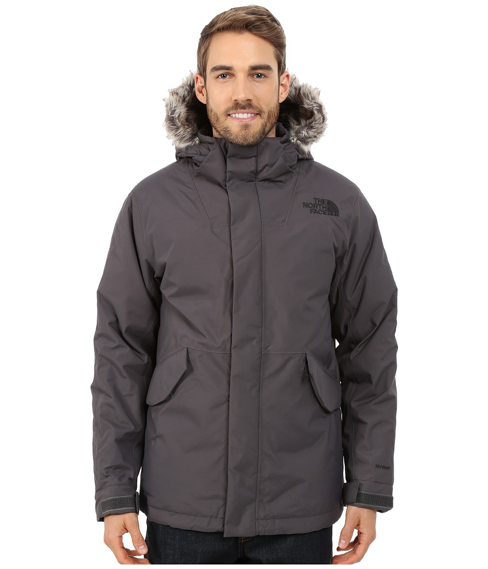 The North Face - Mount Logan Jacket (Graphite Grey) Men's Coat