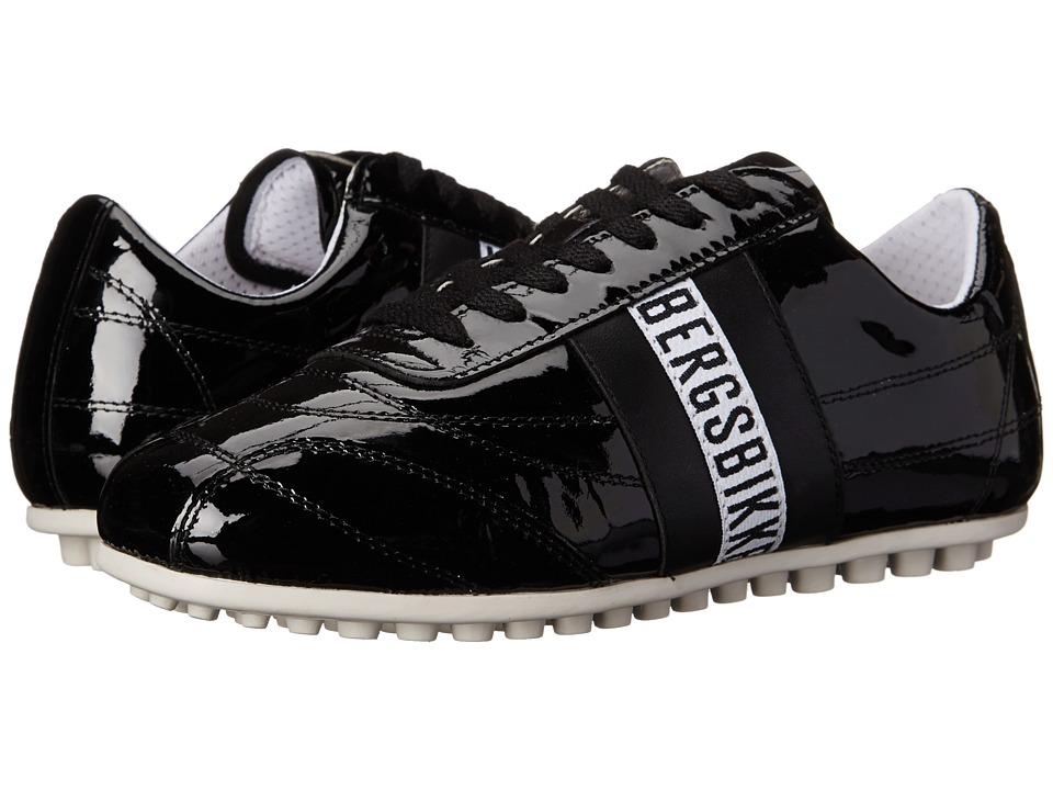 Bikkembergs - Soccer (Black Patent) Women's Soccer Shoes