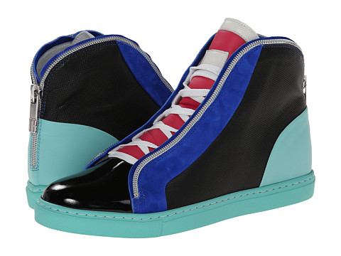 Bikkembergs - Bjork High Top Sneaker (Bluette/Black) Women's Shoes