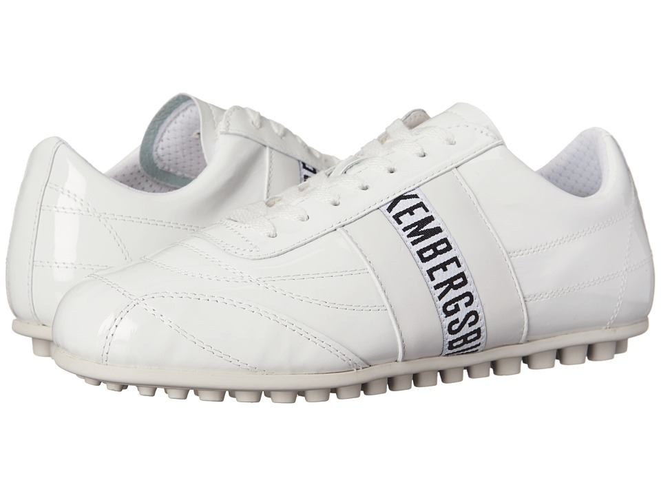 Image of Bikkembergs - Soccer (White Patent) Women's Soccer Shoes