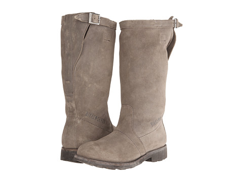 Bikkembergs - Vintage Tall Suede Boot (Taupe) Women's Pull-on Boots