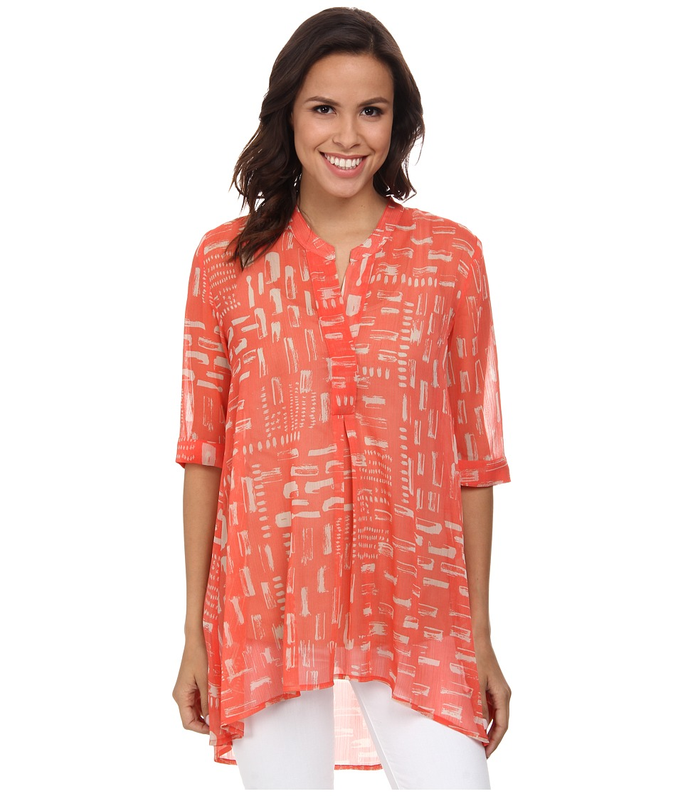 NIC+ZOE - Dots and Dashes Tunic (Multi) Women's Blouse