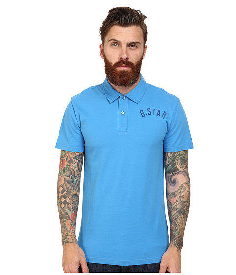 G-Star - Fenster Polo Shirt (Single Jeresy Ink) Men