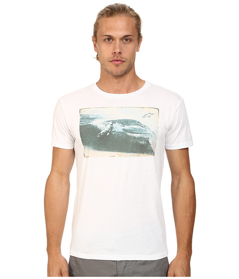 Alpinestars - Swell Tee (White) Men's T Shirt