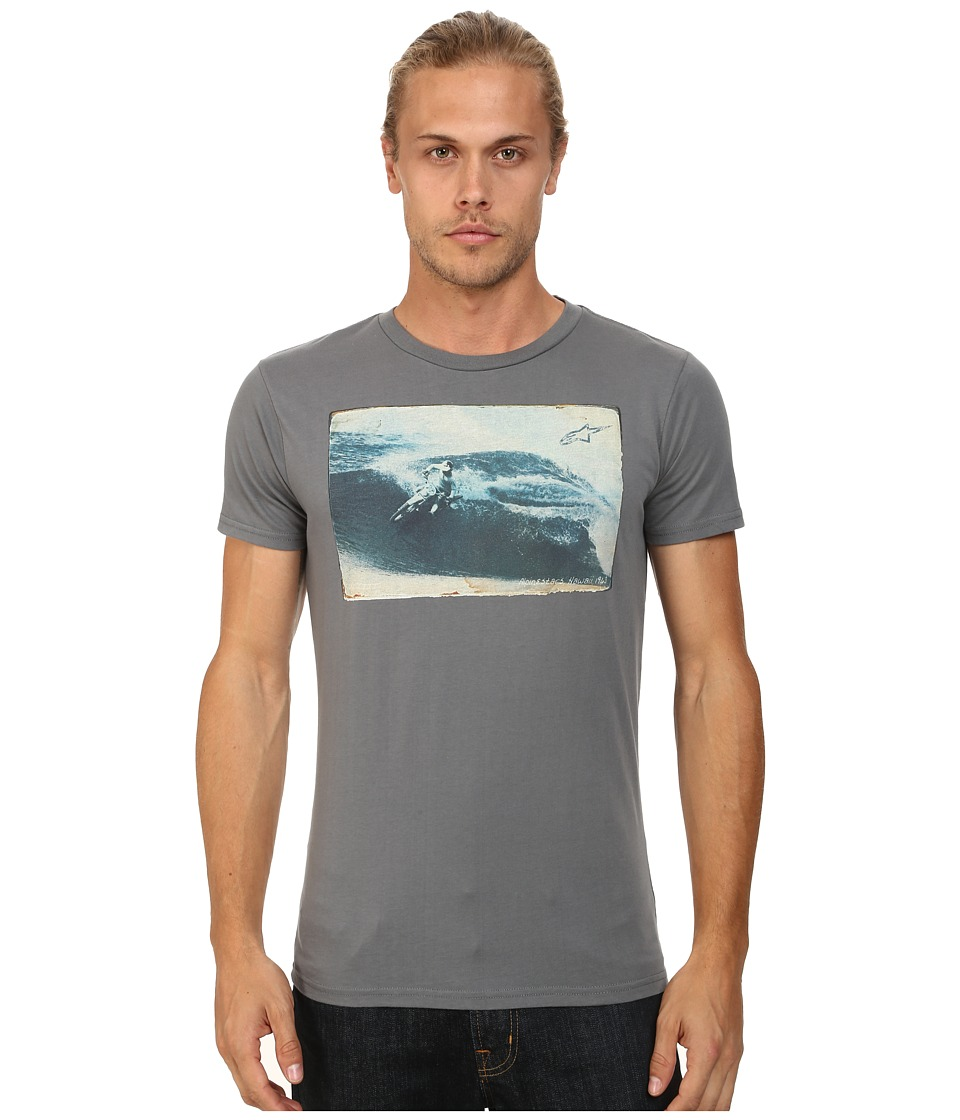 Alpinestars - Swell Tee (Charcoal) Men's T Shirt