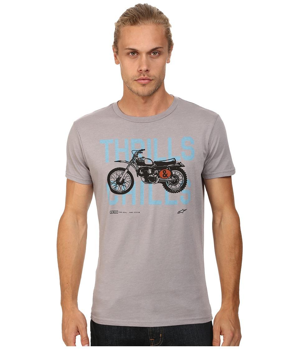 Alpinestars - Chills Tee (Gray Heather) Men's T Shirt