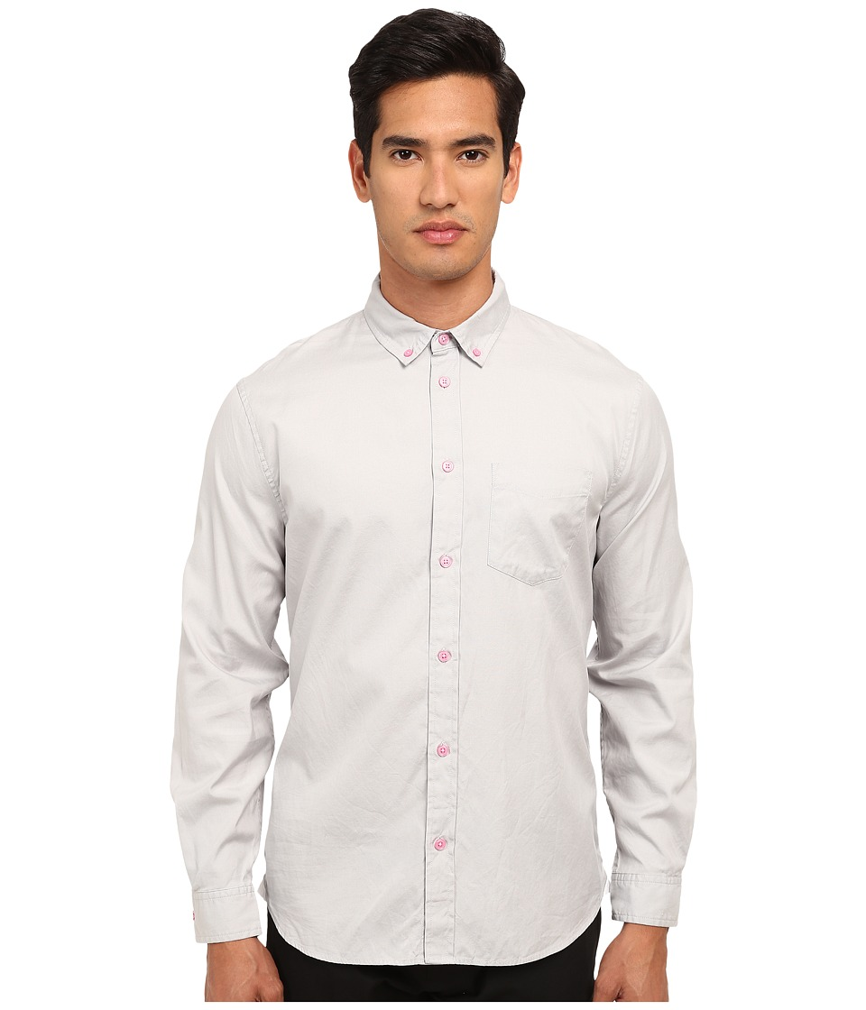 Marc by Marc Jacobs - Oxford Shirting (Stingray Multi) Men's Long Sleeve Button Up