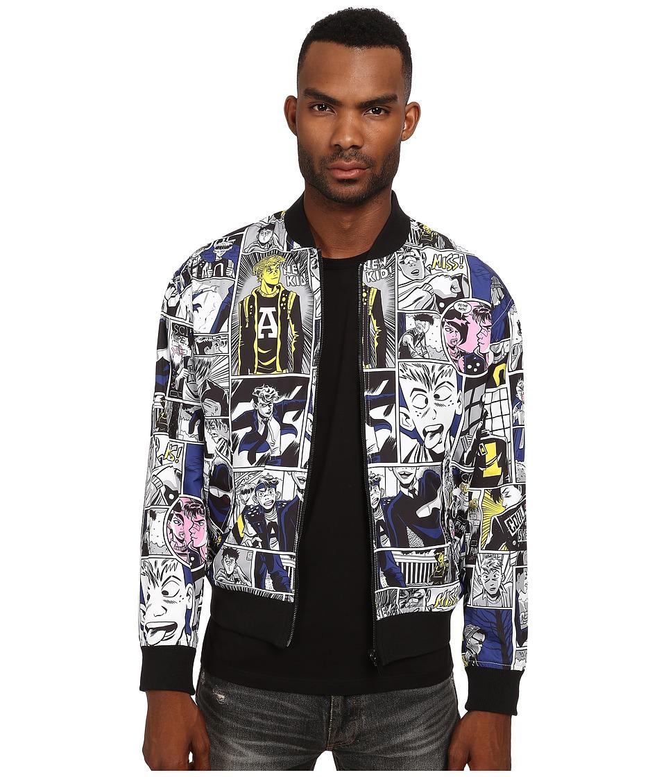 Marc by Marc Jacobs - Reversible Comic Print Outerwear (Wicken White Multi) Men