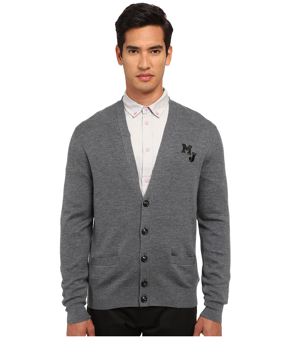 Marc by Marc Jacobs - School Sweater (Lead Melange) Men