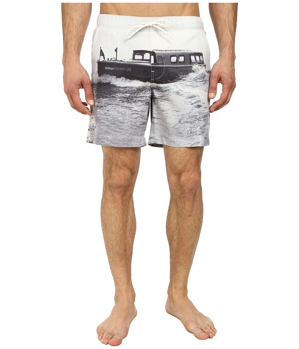 G-Star - Yoshem Beach Shorts (Light Chalk) Men's Swimwear
