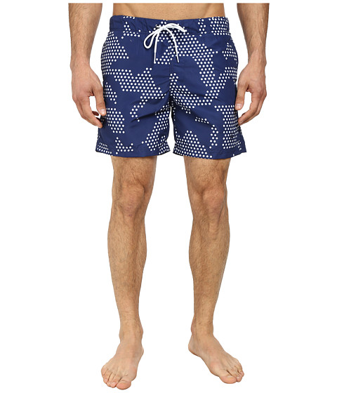G-Star - Vindal Beach Shorts (Ballpen Blue) Men's Swimwear