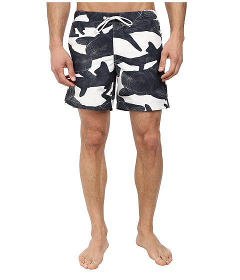 G-Star - Yoshem Beach Shorts (Light Chalk) Men