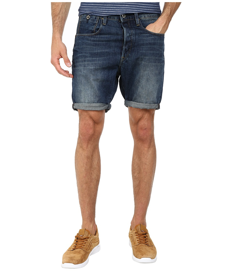 G-Star - Type C 1/2 in Ryl Denim Dark Aged (Ryl Denim Dark Aged) Men's Shorts