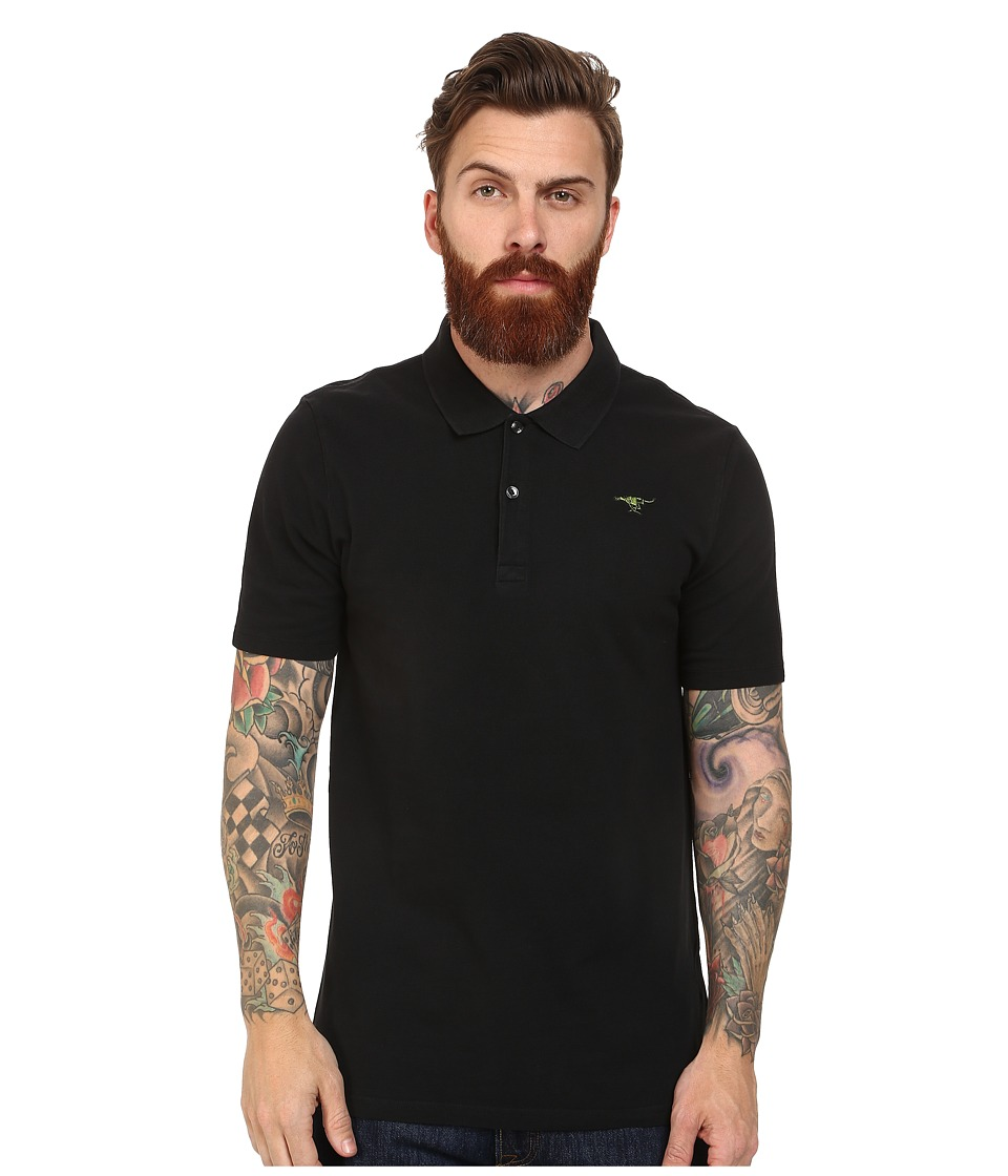 G-Star - Nuelik Short Sleeve Polo T-Shirt (Black) Men's Short Sleeve Knit