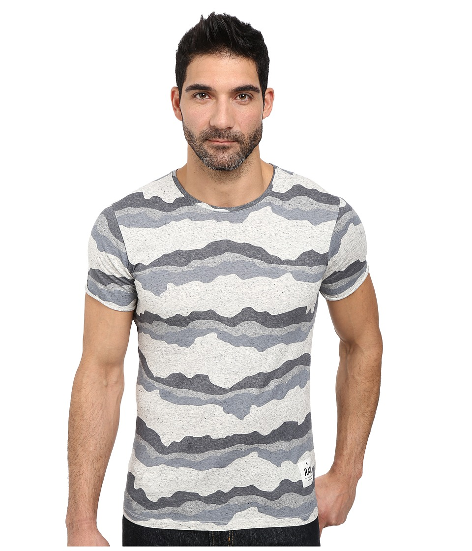 G-Star - Yoshem Round Neck Short Sleeve T-Shirt (Snow Heather) Men