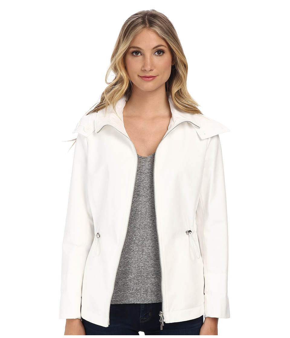 Calvin Klein - Reversible Short Jacket (Soft White) Women's Coat