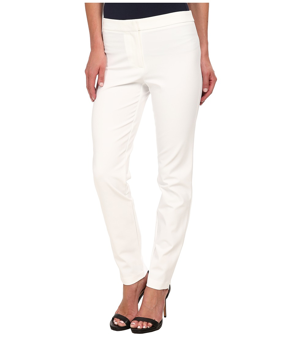 Calvin Klein - Trouser Pants (Soft White) Women's Casual Pants