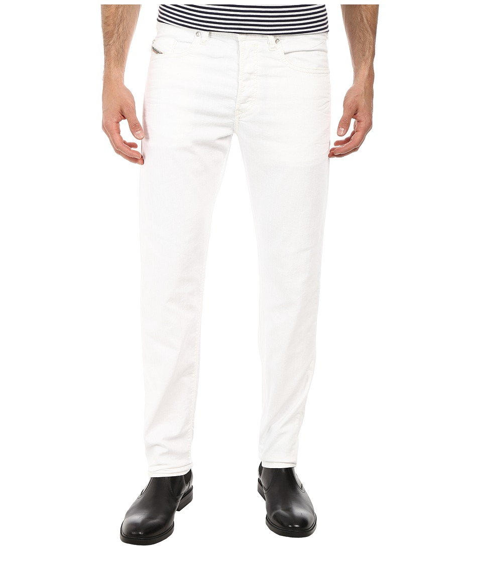 Diesel - Buster Tapered 0830G (White) Men's Jeans
