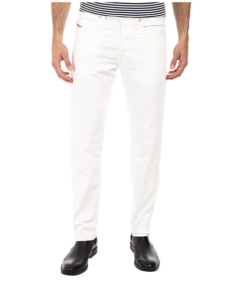 Diesel - Buster Tapered 0830G (White) Men