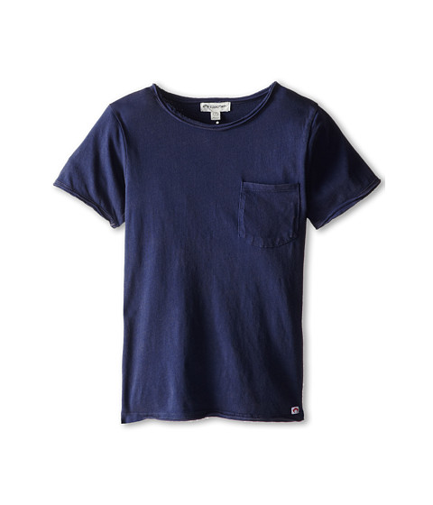 Appaman Kids - Super Soft Devon Tee (Toddler/Little Kids/Big Kids) (Indigo) Boy's T Shirt