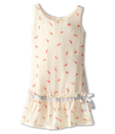 Appaman Kids - Drop Waist Vintage Inspired Flounce Dress (Toddler/Little Kids/Big Kids) (Birds) Girl