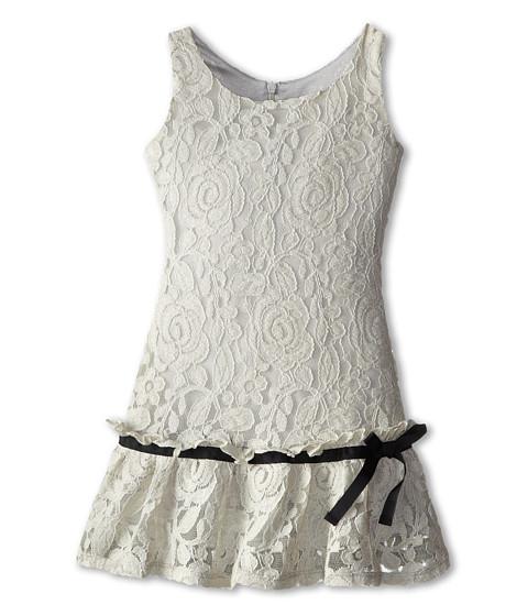 Appaman Kids - Drop Waist Vintage Inspired Flounce Dress (Toddler/Little Kids/Big Kids) (Moonstruck) Girl