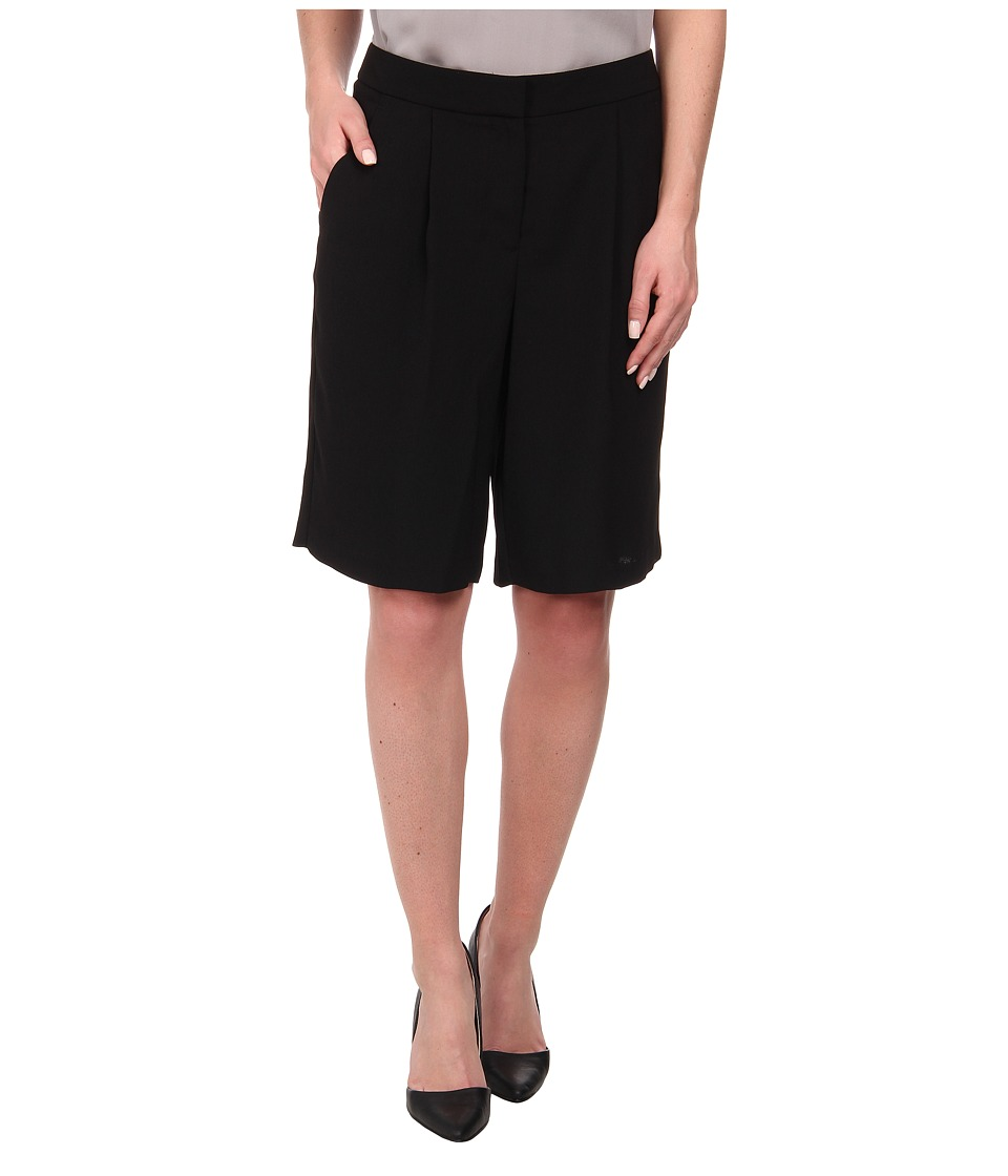 Vince Camuto - Soft Bermuda Shorts (Rich Black) Women's Shorts