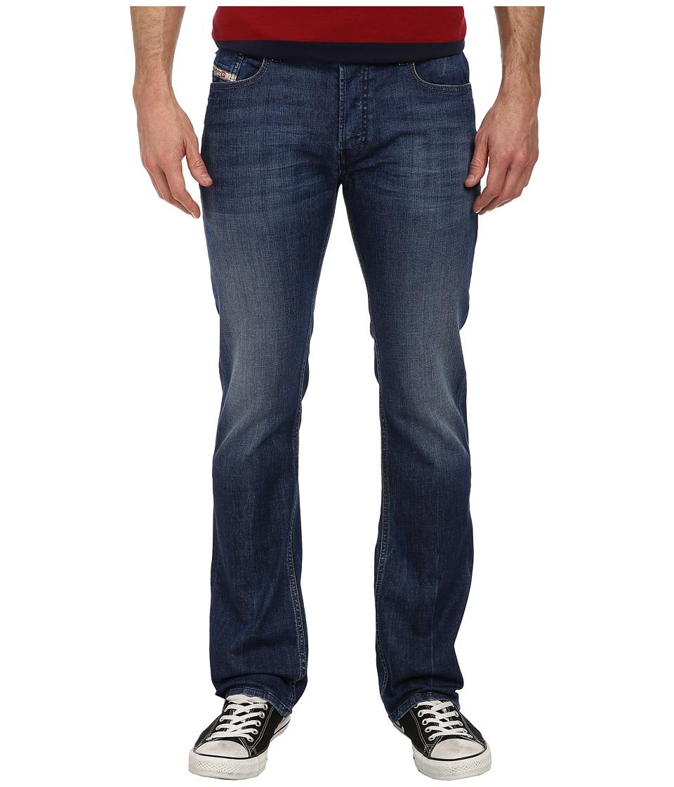 Diesel - New-Fanker Slim Boot 0836X (Denim) Men's Jeans