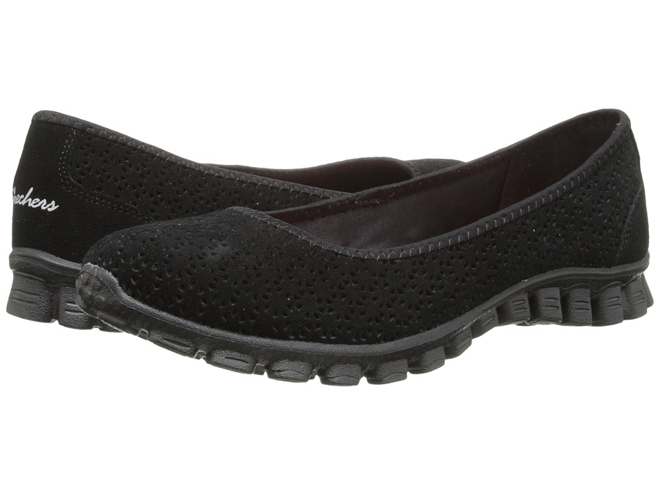 SKECHERS - EZ Flex 2 - Felicity (Black) Women's Slip on Shoes