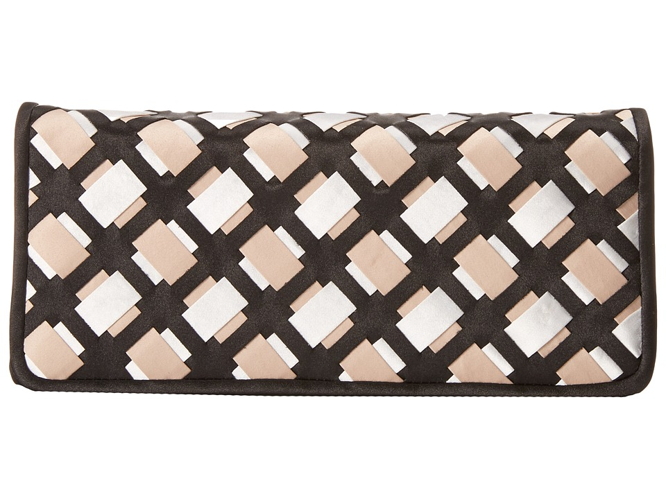 Nina - Ailey (Black/Taupe/White) Clutch Handbags