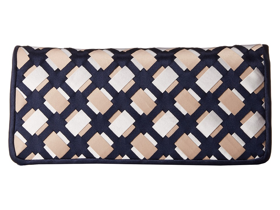 Nina - Ailey (Navy/Taupe/White) Clutch Handbags