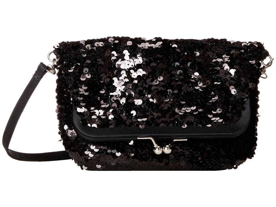Nina - Heather (Black) Cross Body Handbags
