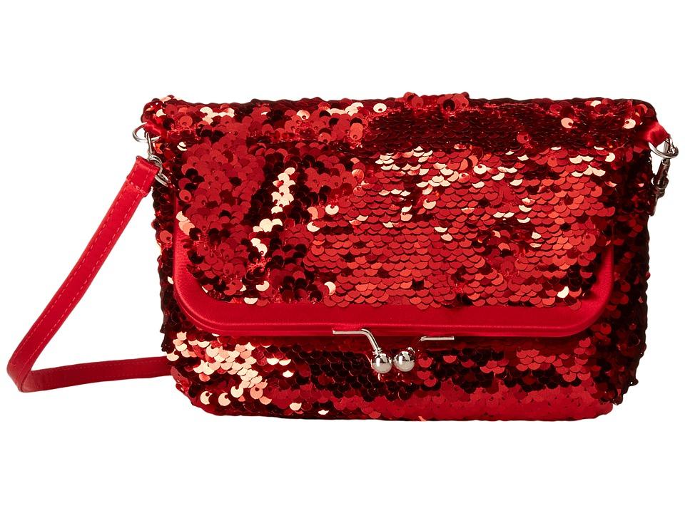 Nina - Heather (Red) Cross Body Handbags