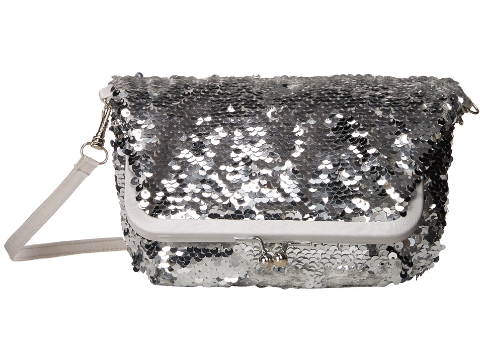 Nina - Heather (Silver) Cross Body Handbags