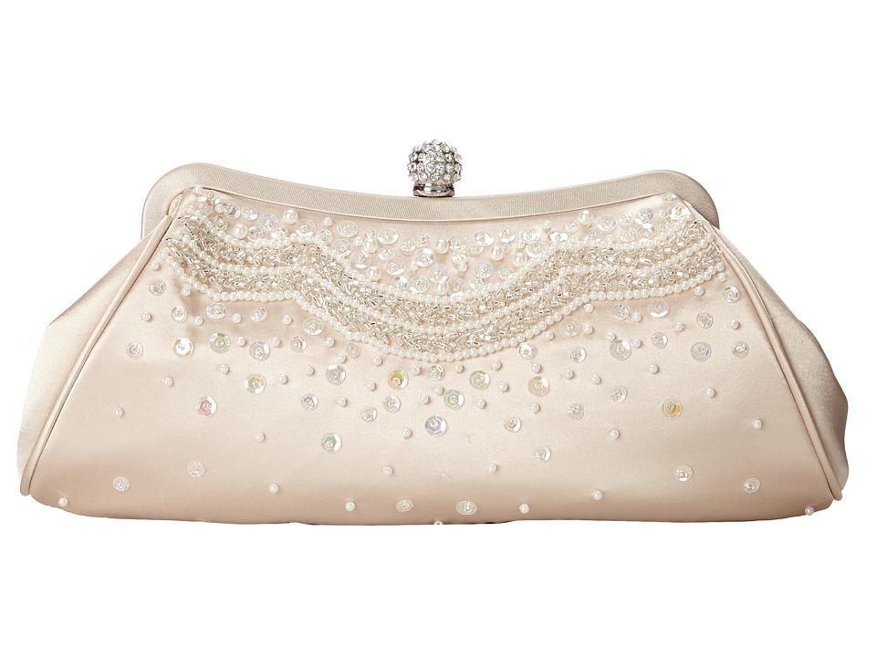 Nina - Hobson (Champagne/Silver) Handbags