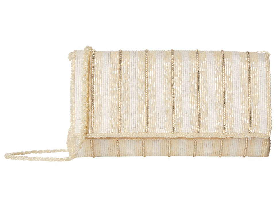 Nina - Hermione (Champagne/White/Silver) Handbags