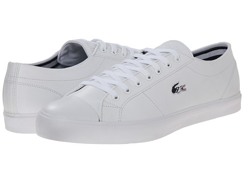 Lacoste - Marcel Chunky TC HTB (White/Dark Blue) Men's Shoes