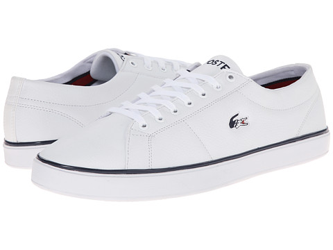 Lacoste - Marcel Evo HTB (White/Dark Blue) Men