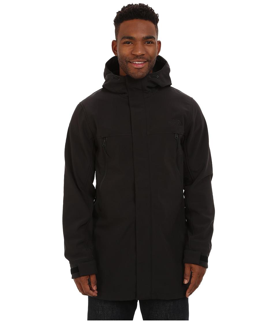 The North Face - Apex Bionic Trench Coat (TNF Black) Men's Coat plus size,  plus size fashion plus size appare